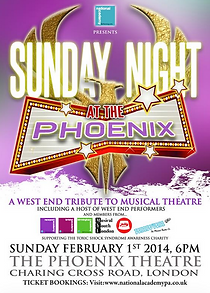 musical youth london sunday at the phoenix theatre poster