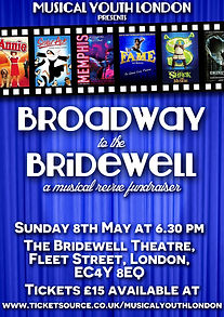 musical youth london broadway at the bridewell poster