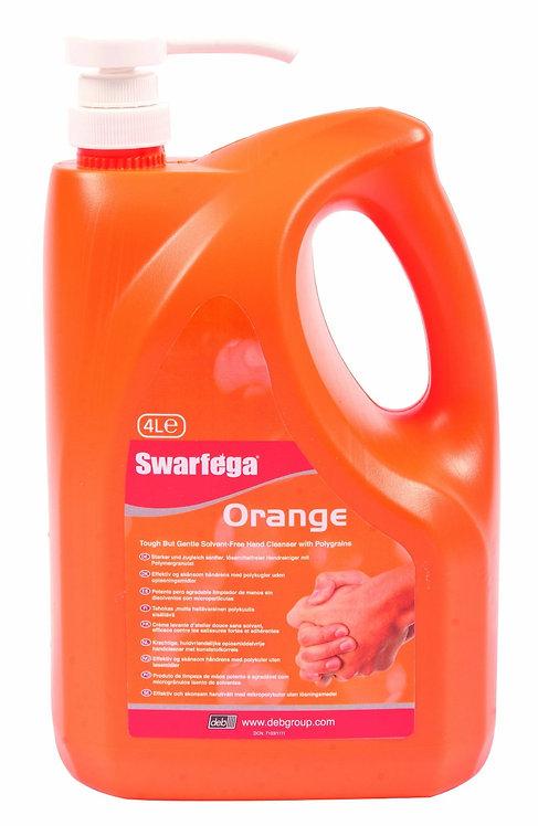 Deb Swarfega Orange 4L PumpTop Bottle