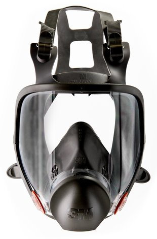3M 6800 Full Facepiece Respirator, [1 PCS]