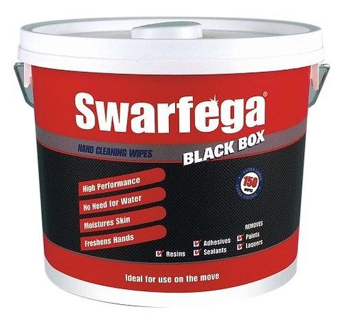 Deb Swarfega BlackBox 150 Wipes Pail
