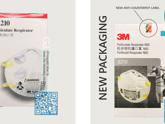 How to recognize a fake 3M N95 8210 Respirator in a minute?