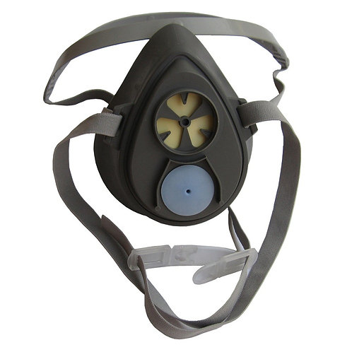 3M 3200 Half Facepiece Respirator, [1 PCS]