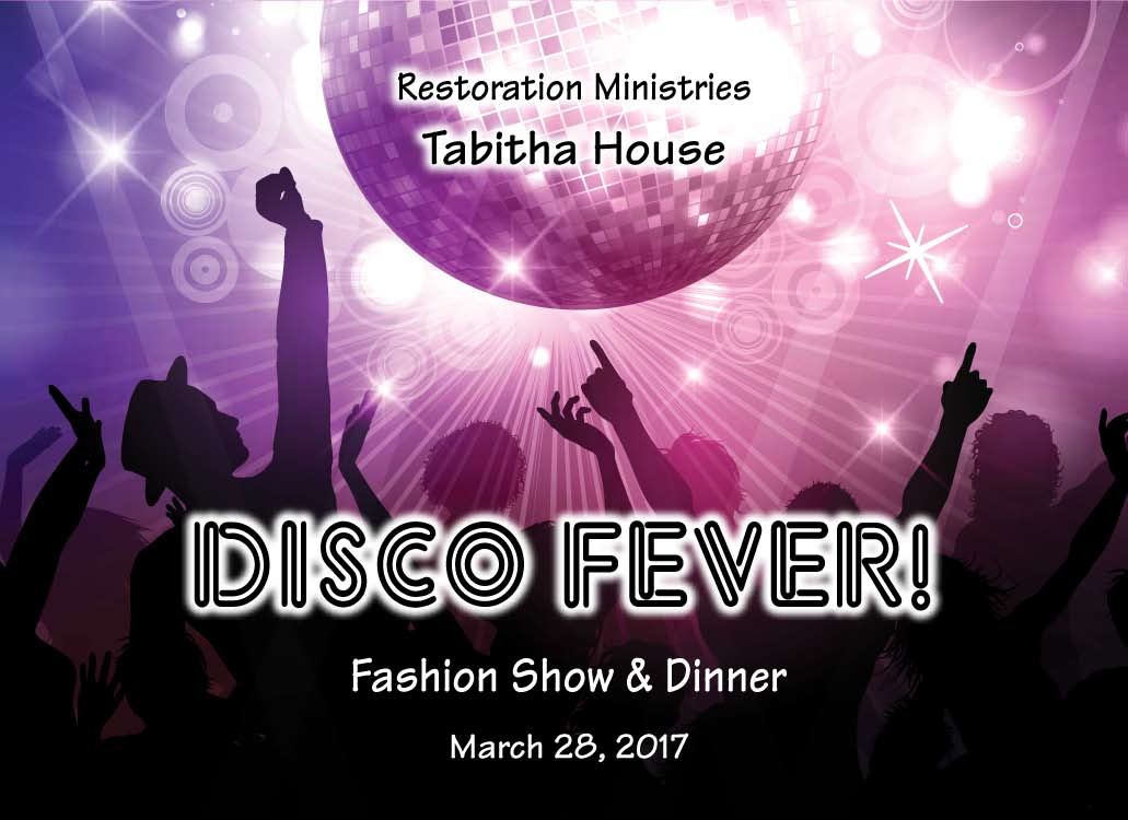Pages from Tabitha House Fashion Show Invitation