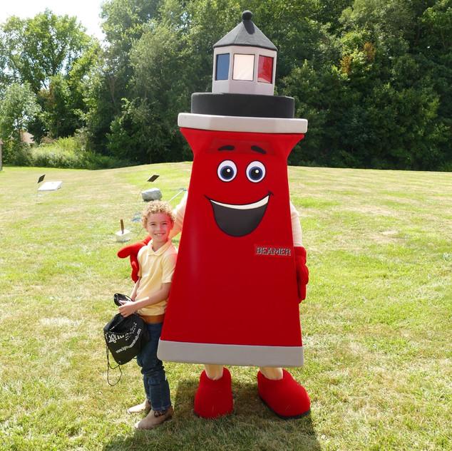 Lighthouse Mascot