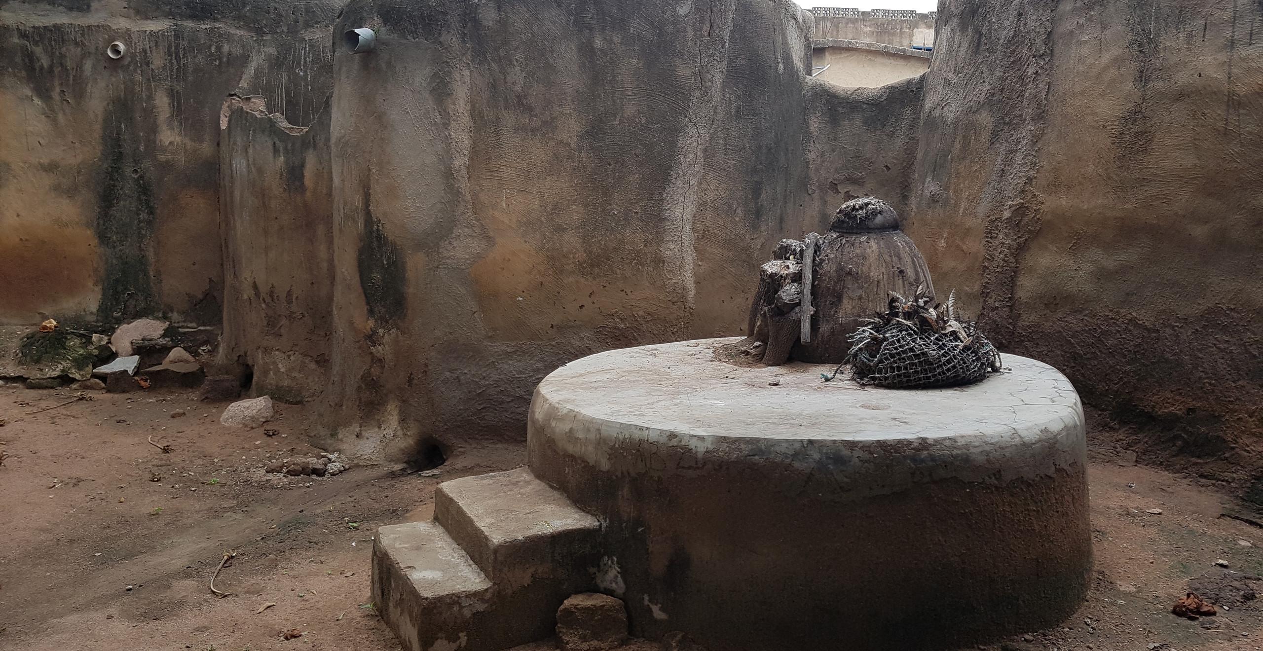 Altar espiritual (Tongo/Gana)
