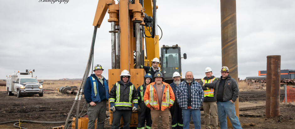 On-Site With APE...American Pile Driving Equipment