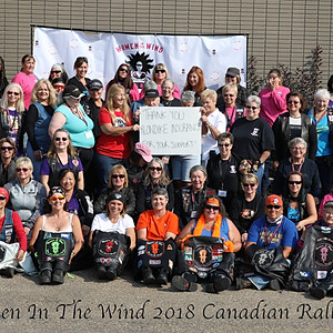 Women In The Wind 2018 Canadian Rally