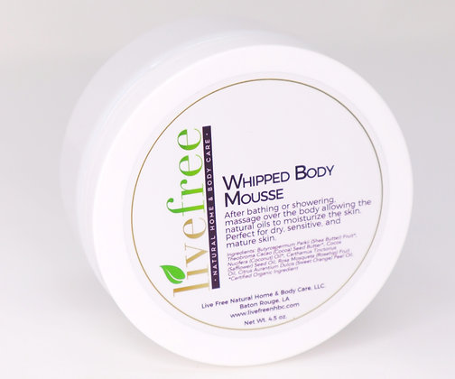 Whipped Body Mousse, 4.5 oz
