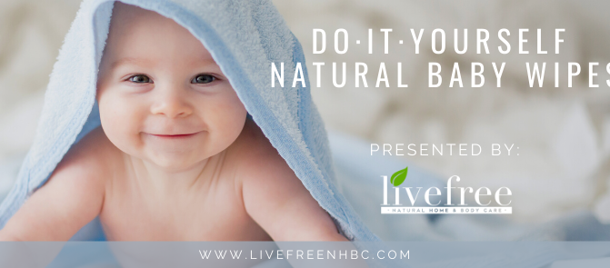 DIY Natural Baby Wipes