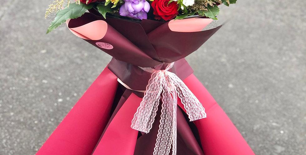 Flower Basket Med