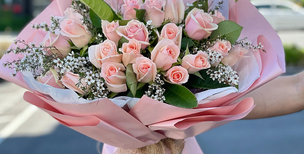 30 Roses Pink
