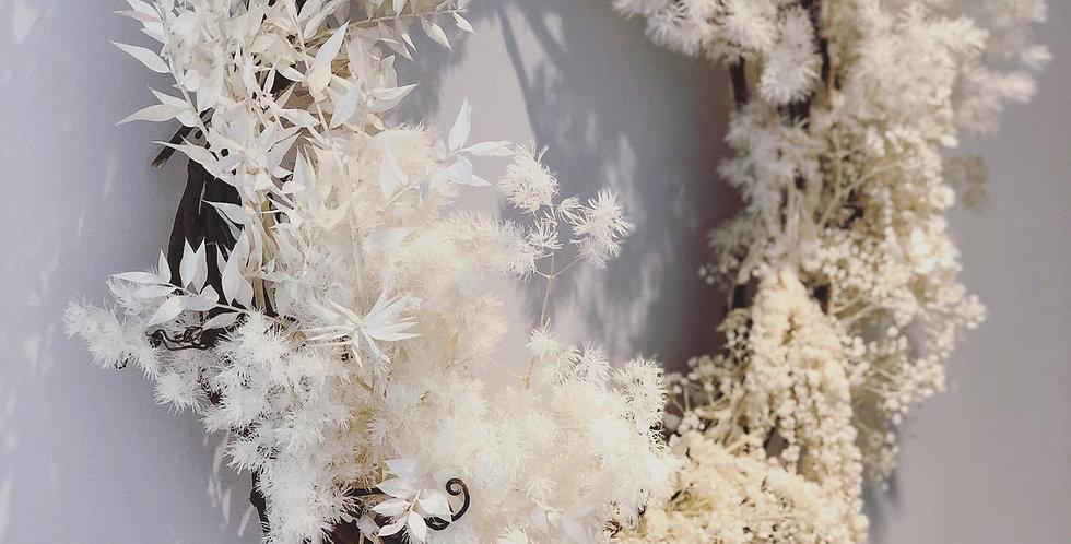 Preserved flowers Wreath