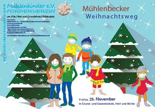 Kommt am 25.11. ab 16.00 Uhr zum Mühlenbecker Weihnachtsweg