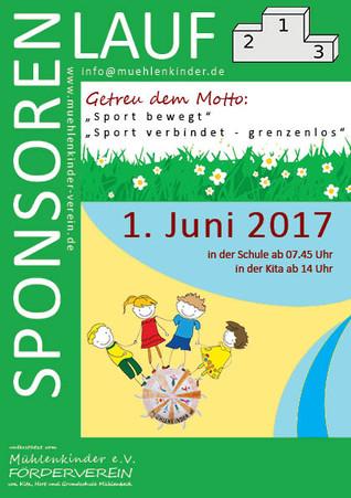 Kita‐ und Schulkinder aus Mühlenbeck erlaufen über 10.000 € beim Sponsorenlauf am Kindertag!