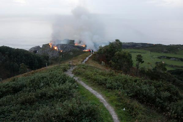 Incendio en Tronía (15-10-17)