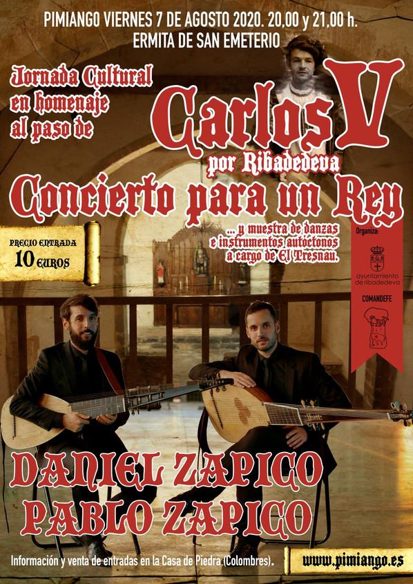 Horarios concierto 7 de agosto en San Emeterio. Venta de entradas