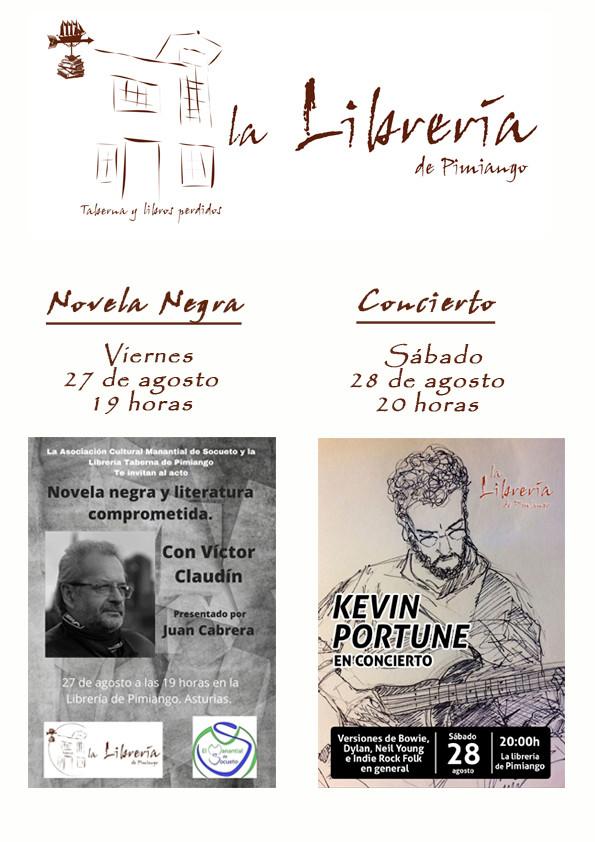 Novela negra y concierto