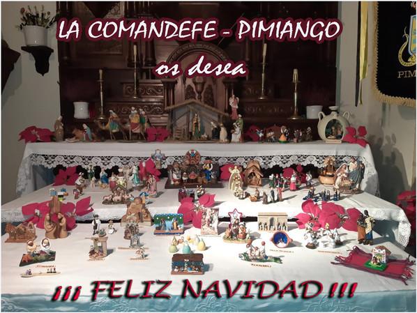 ¡¡¡ Feliz Navidad !!! desde Pimiango