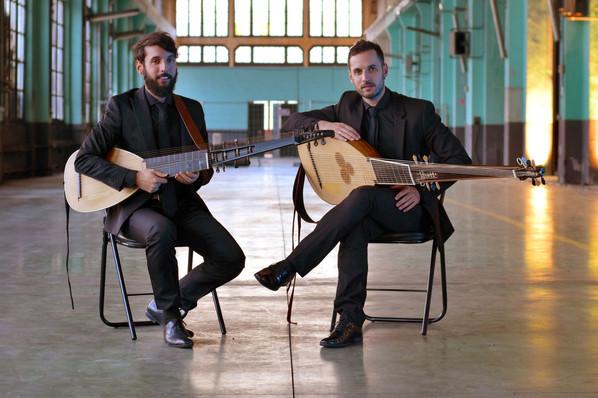 Programa Concierto Carlos V: Daniel Zapico & Pablo Zapico