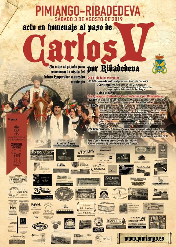 V Paso de Carlos V por Ribadedeva