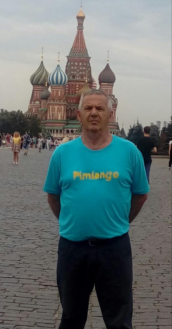 Pimiango en Moscú