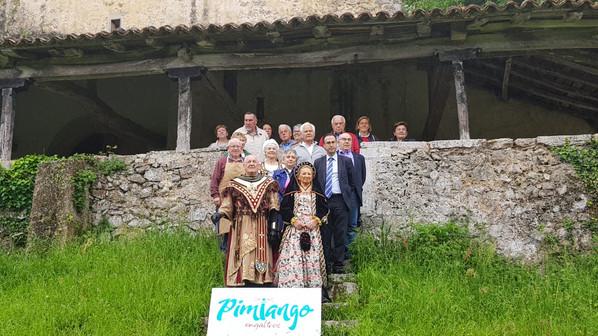 """Presentación oficial de Pimiango a la candidatura """"Pueblo Ejemplar"""""""
