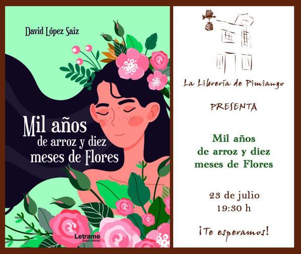 """La Librería y """"Mil años de arroz y diez meses de flores"""""""