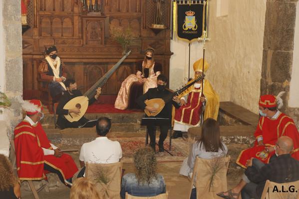 La música antigua reinó en San Emeterio