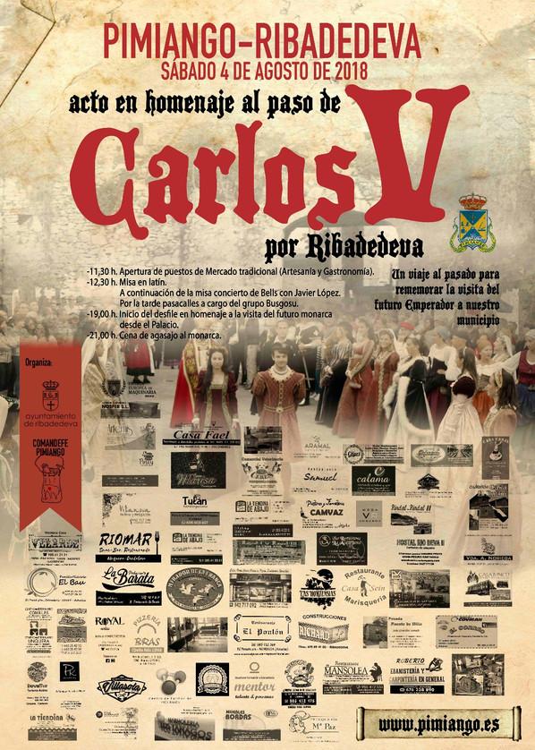Cartel IV Paso de Carlos V