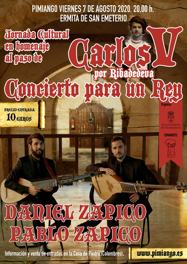 Cartel Concierto Carlos V