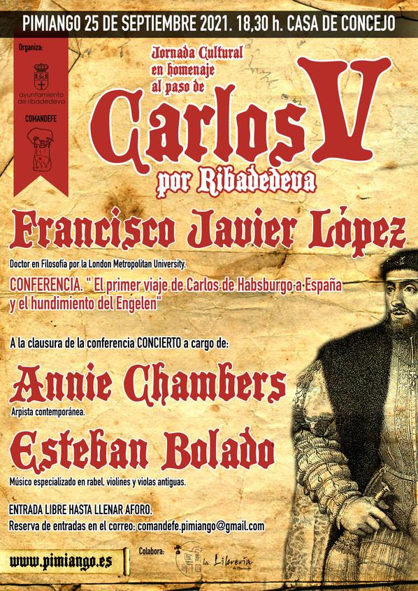 Jornada Cultural en Pimiango sobre el paso de Carlos V por Ribadedeva. Conferencia y concierto