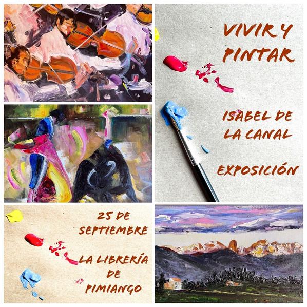 Exposición de pintura Isabel de la Canal