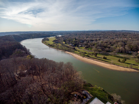 Looney Islands in Tennessee River at Sequoyah Park