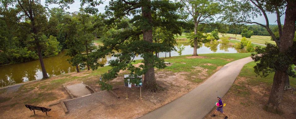 Victor Ashe Park disc golf