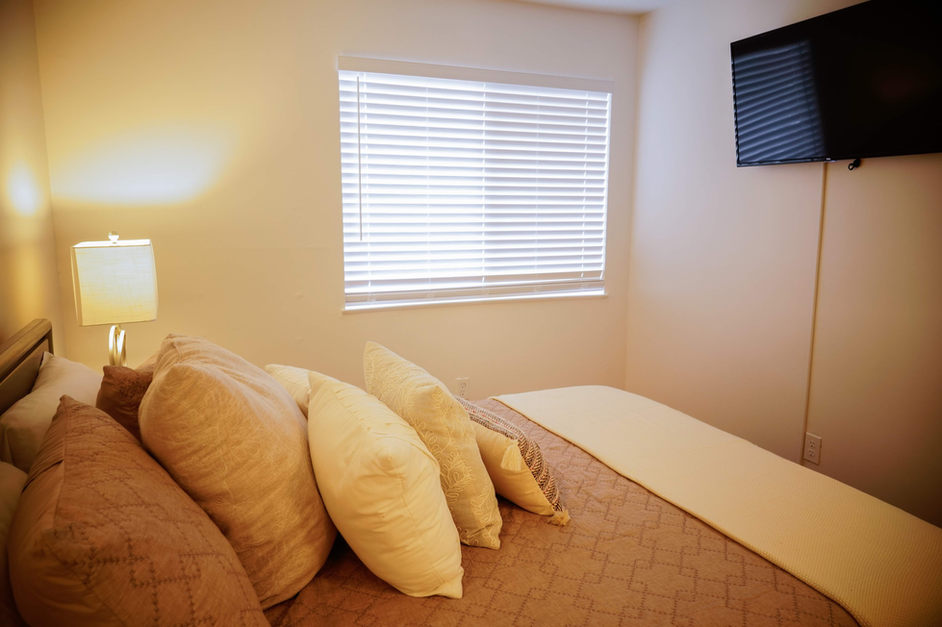 condo bedroom
