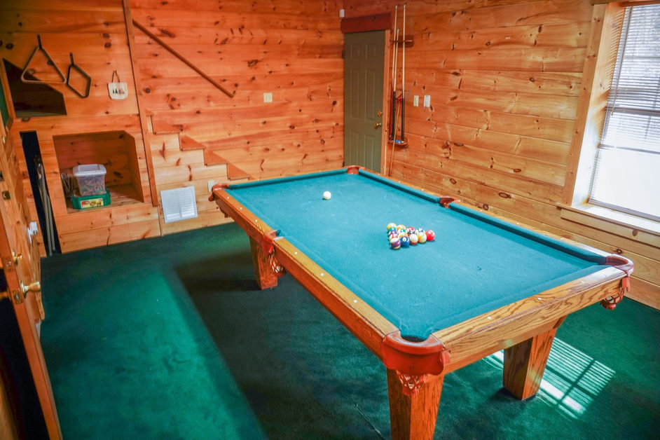 cabin game room