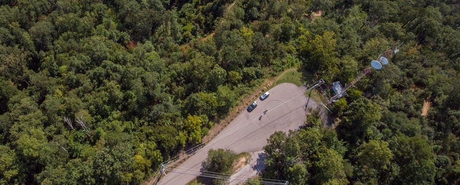 Sharp's Ridge Memorial Park turnaround