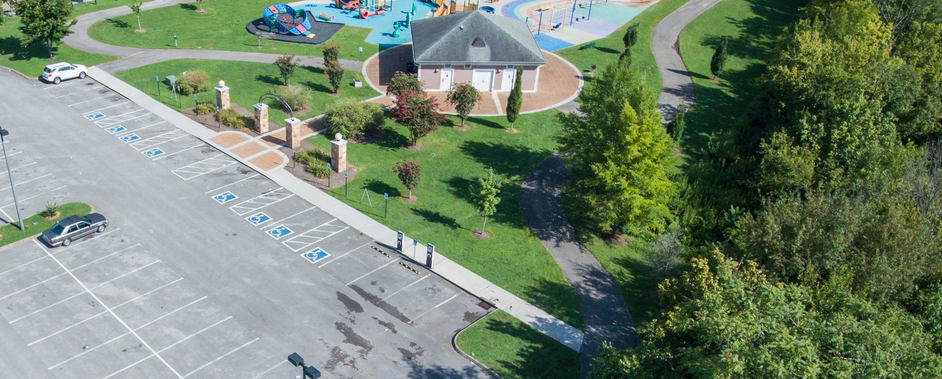 Caswell Park playground parking