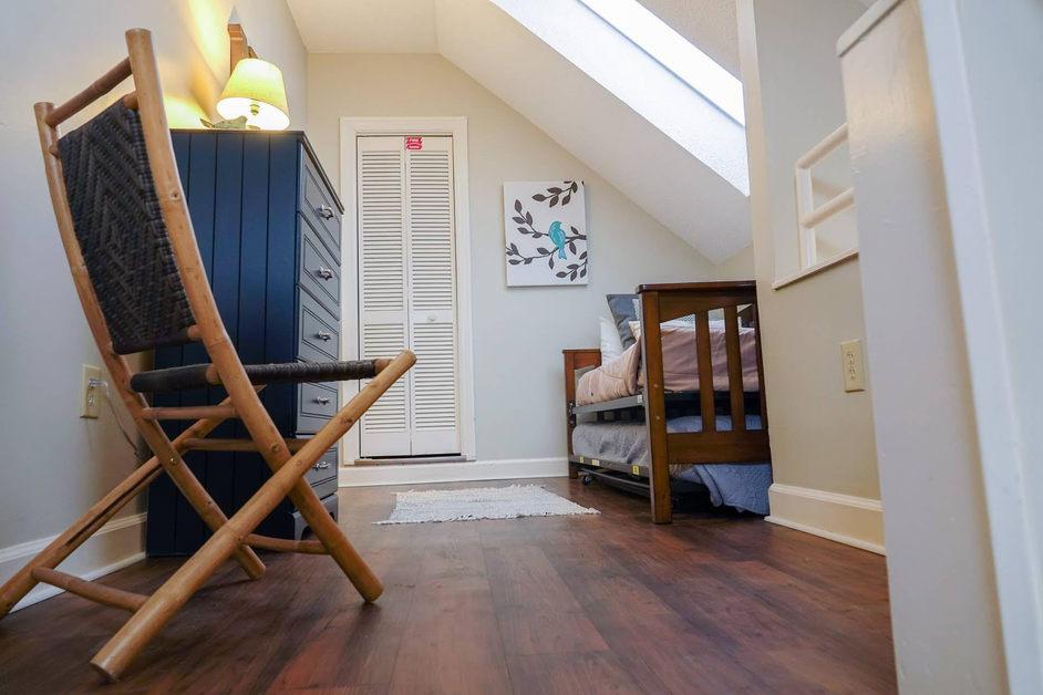 condo loft bedroom