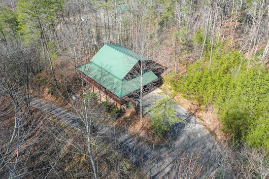Cabin - aerial imagery