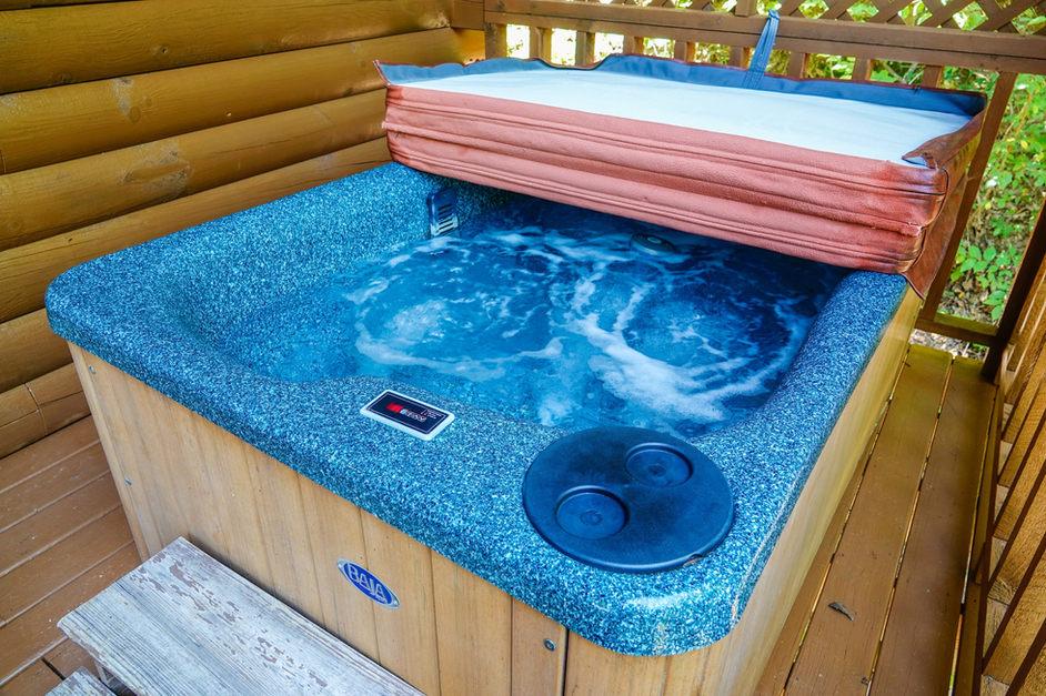 soaking in comfort