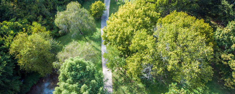 Adair Park greenway