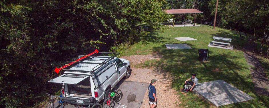 Sharp's Ridge Memorial Park bicyclists