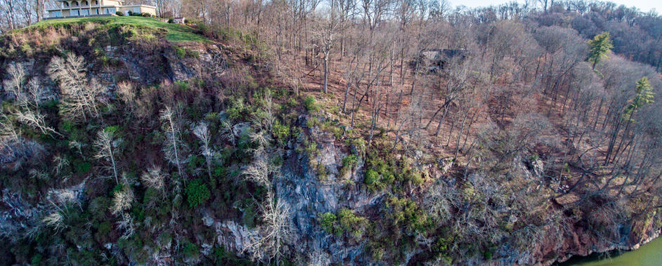 Cherokee Bluffs over Tennessee River
