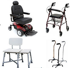 grab bars, electric wheelchairs