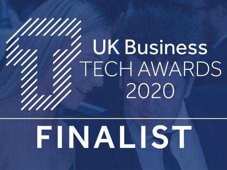 Edozo shortlisted at the UK Business Tech Awards 2020
