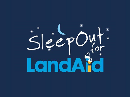 SleepOut for LandAid - Raising funds to tackle youth homelessness
