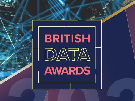 Edozo shortlisted at the British Data Awards 2021