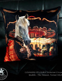 Coussin Velour - CIRCUS Amazon
